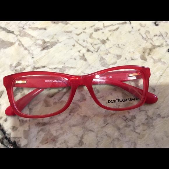 3aab5ad989e7 Dolce   Gabbana Red spectacles